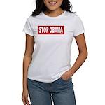 Stop Obama Women's T-Shirt