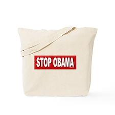 Stop Obama Tote Bag