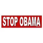 Stop Obama Bumper Sticker (50 pk)