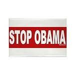 Stop Obama Rectangle Magnet (10 pack)