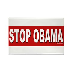 Stop Obama Rectangle Magnet (10 pack)