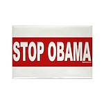 Stop Obama Rectangle Magnet