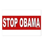 Stop Obama Postcards (Package of 8)