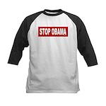 Stop Obama Kids Baseball Jersey