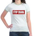 Stop Obama Jr. Ringer T-Shirt