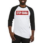 Stop Obama Baseball Jersey