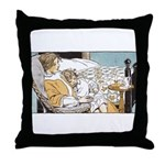 1930's Lullabye Throw Pillow