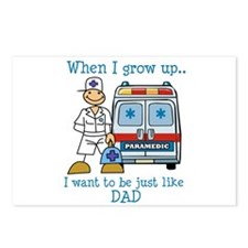 When I grow up I want to be just like Dad Postcard