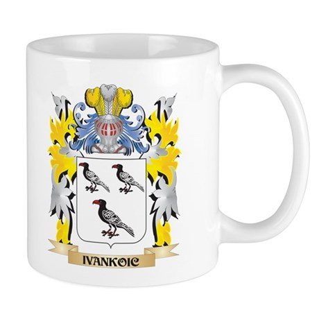 Ivankoic Coat of Arms - Family Crest Mugs