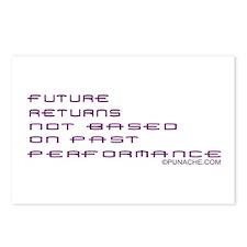 FUTURE RETURNS NOT BASED ON PAST PERFORMANCE Postc