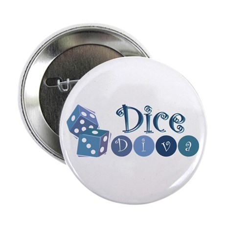 "Dice Diva 2.25"" Button (10 pack)"