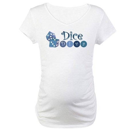 Dice Diva Maternity T-Shirt