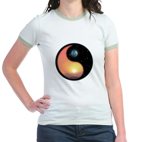 Night and Day Jr. Ringer T-Shirt