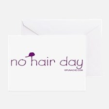 NO HAIR DAY Greeting Cards (Pk of 10)