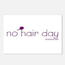 NO HAIR DAY Postcards (Package of 8)