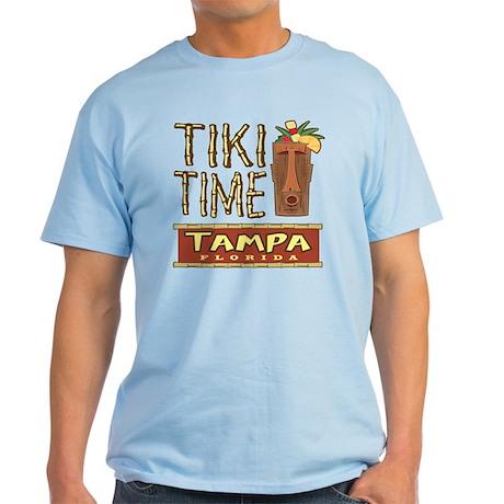 Tampa Tiki Time - Light T-Shirt