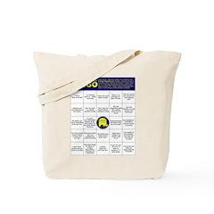 Op. Yellow Elephant Bingo Tote Bag
