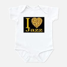 I (Heart) Jazz Infant Creeper