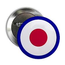 "RAF Roundel 2.25"" Button"