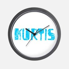 Kurtis Faded (Blue) Wall Clock