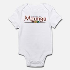 Just Call Me Mzungu - Infant Bodysuit