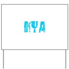 Kya Faded (Blue) Yard Sign