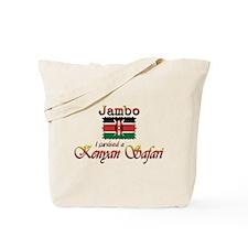 Survived a Kenyan Safari - Tote Bag