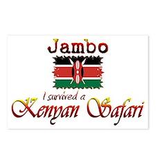 Survived a Kenyan Safari - Postcards (Package of 8
