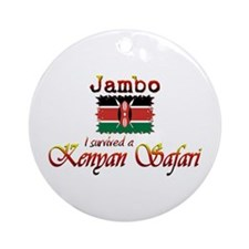 Survived a Kenyan Safari - Ornament (Round)