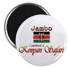 Survived a Kenyan Safari - Magnet