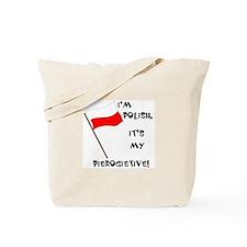 Polish Pierogietive Tote Bag