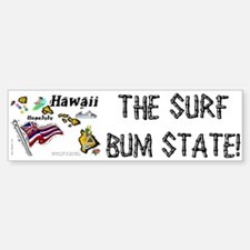 HI-Surf! Bumper Bumper Bumper Sticker