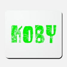Koby Faded (Green) Mousepad