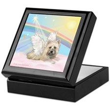 Angel / Cairn Terrier(w) Keepsake Box