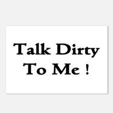 Talk Dirty To Me! Postcards (Package of 8)
