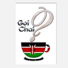 Got Chai? Kenya - Postcards (Package of 8)