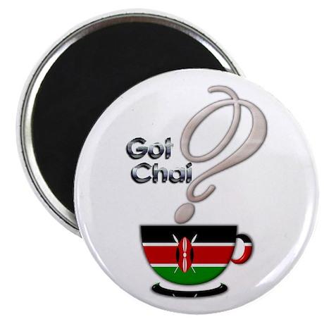 "Got Chai? Kenya - 2.25"" Magnet (10 pack)"