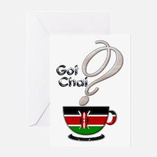 Got Chai? Kenya - Greeting Card