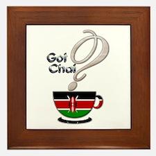 Got Chai? Kenya - Framed Tile