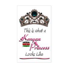 Kenyan Princess - Rectangle Decal