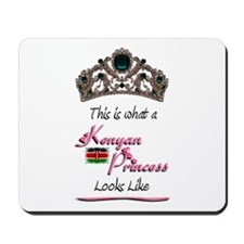 Kenyan Princess - Mousepad