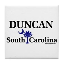 Duncan South Carolina Tile Coaster