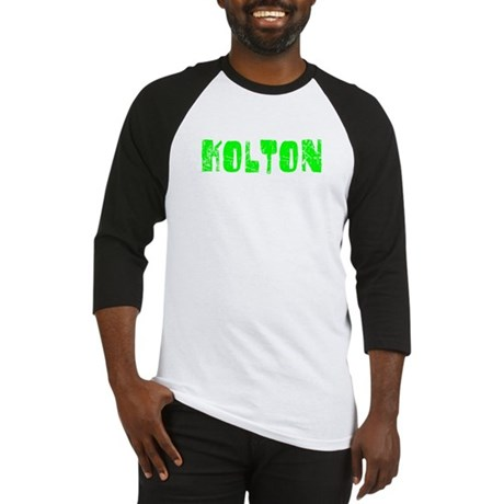 Kolton Faded (Green) Baseball Jersey