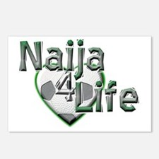 Naija 4 Life - Postcards (Package of 8)