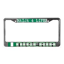 Naija 7 Life - License Plate Frame