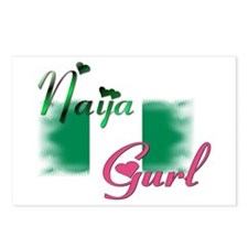 Naija Gurl - Postcards (Package of 8)