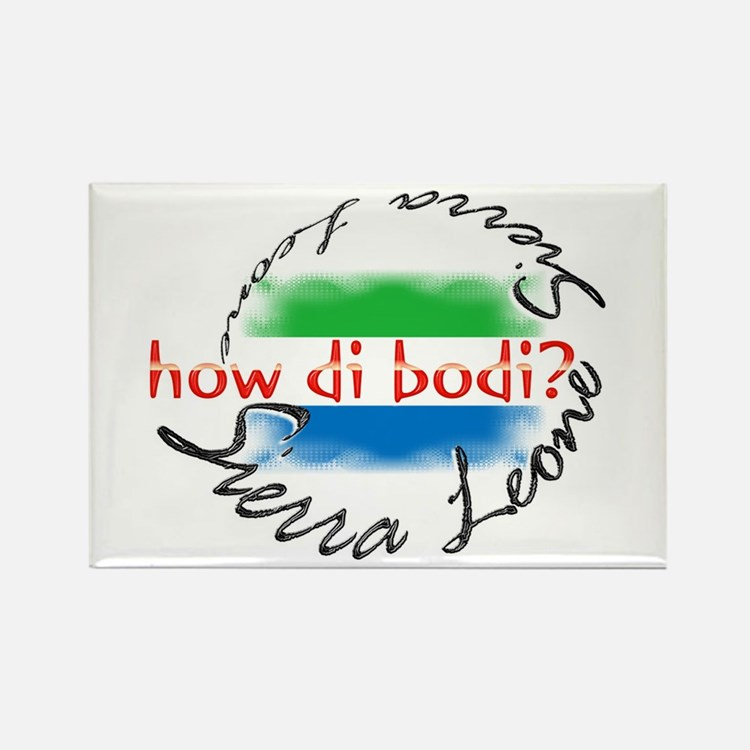 How di bodi? - Rectangle Magnet (10 pack)