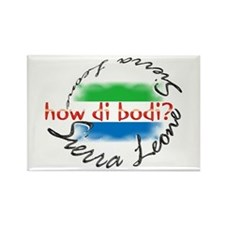 How di bodi? - Rectangle Magnet