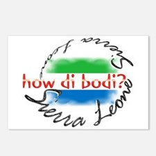 How di bodi? - Postcards (Package of 8)