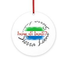 How di bodi? - Ornament (Round)